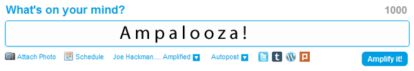 What's on your Mind? An Amapalooza!