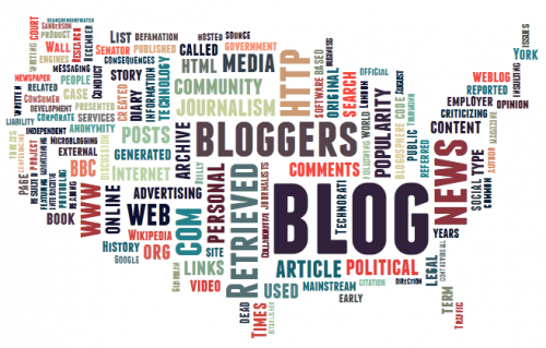 Blogger Tag Cloud by Joe Hackman (via Tagxedo)