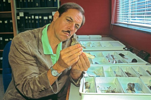 Dr. Sulloway and Finch Specimens