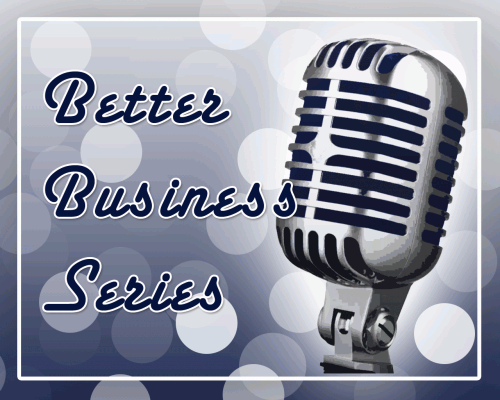 Better Business Podcast Episode Logo
