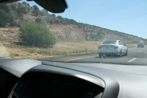 One of about 8 Mystery Cars on I17 North