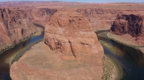 A great reward for a short hike, incredible view of Horseshoe Bend.