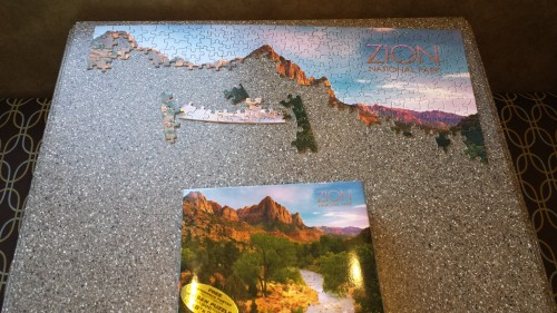 Zion Puzzle - the Watchman