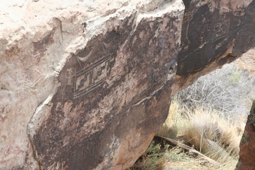 Some of the amazing petroglyphs at Puerco Pueblo