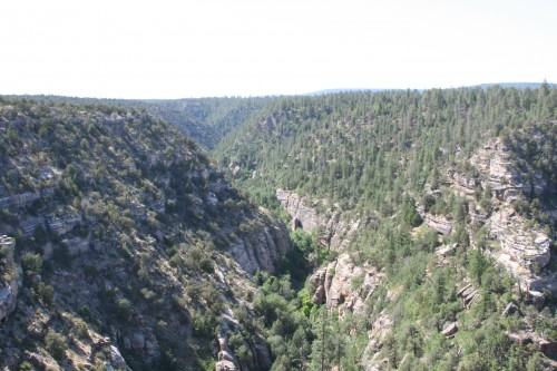 Part of Walnut Canyon