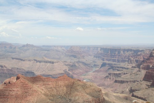 My first view of the Grand Canyon