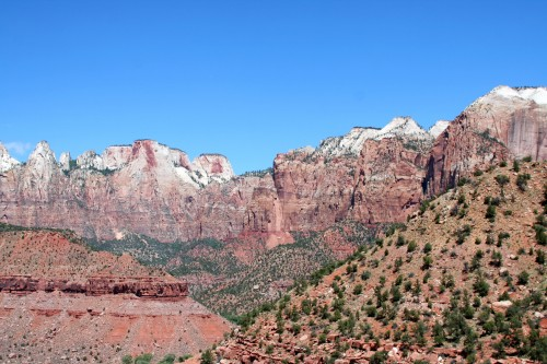 Zion was full of Magnificent views, we'll be back.